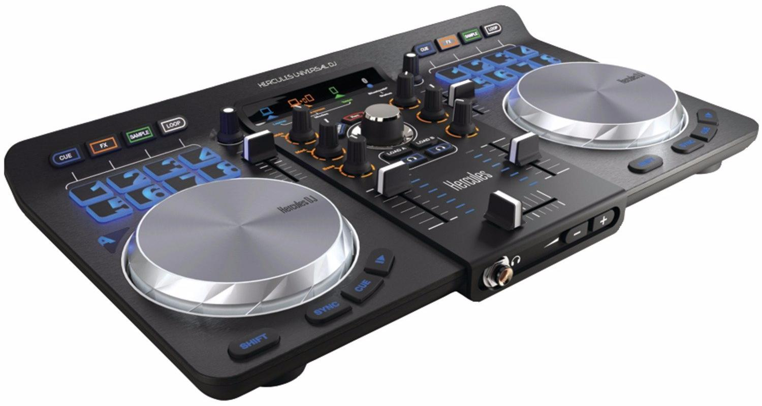 Hercules Universal DJ - микшерный пульт (Black) микшерный пульт alesis multimix 6fx