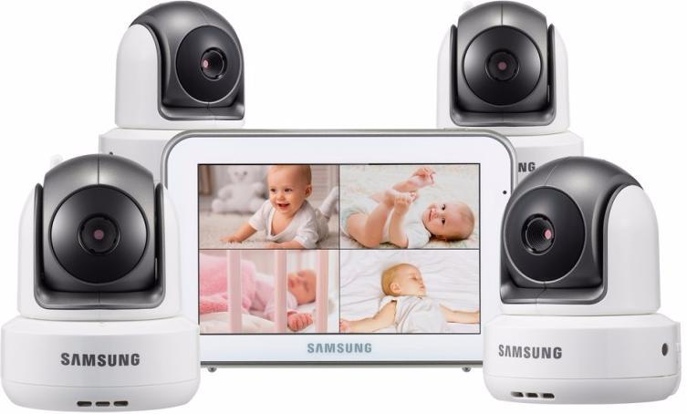 Samsung SEW-3043WPX4 - видеоняня на 4 камеры (White)