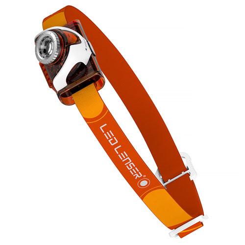 Led Lenser Seo3 (6104) – светодиодный налобный фонарик (Orange)