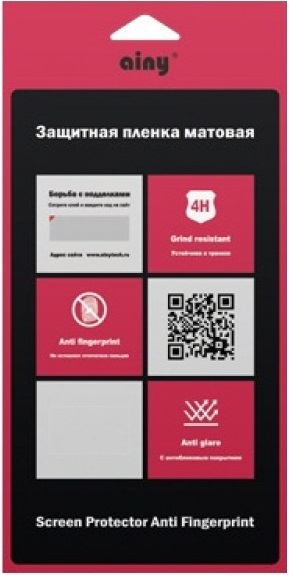 Ainy AA-Ab892 - защитная пленка для Asus Zenfone Selfie (матовая) ainy ac ab727 защитная пленка для asus zenfone selfie глянцевая