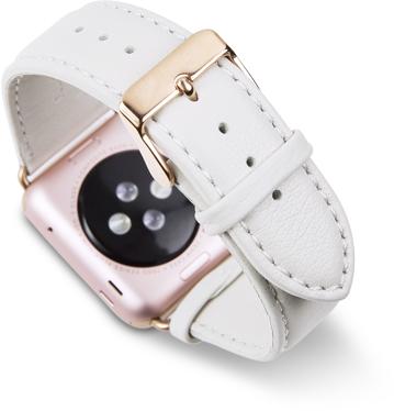 Купить Dbramante1928 Copenhagen Watch Strap (AW42GROW0679) - ремешок для Apple Watch 42mm (White/Rose Gold)