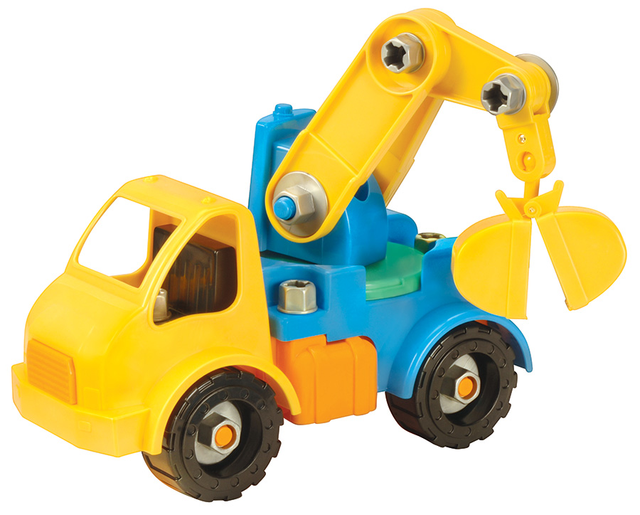 Игрушка-конструктор Battat Разборный кран (68708)Конструкторы для детей младшего возраста<br>Игрушка-конструктор<br>