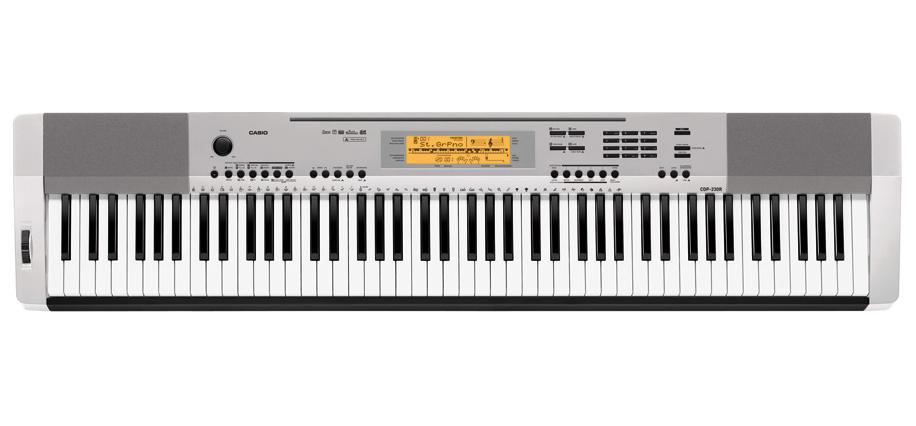 Casio CDP-230RSR - цифровое фортепиано (Silver)