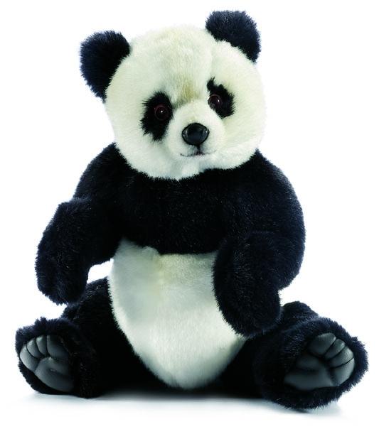 Hansa Панда (4473) - мягкая игрушкаМягкие игрушки<br>Мягкая игрушка<br>