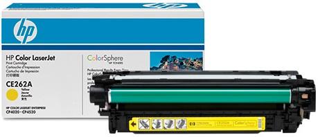 HP CE262A - картридж для принтеров HP Color LaserJet CP4025/CP4525 (Yellow)