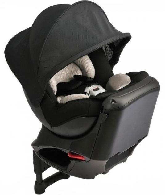 Carmate Kurutto NT2 Premium - детское автокресло (Black)