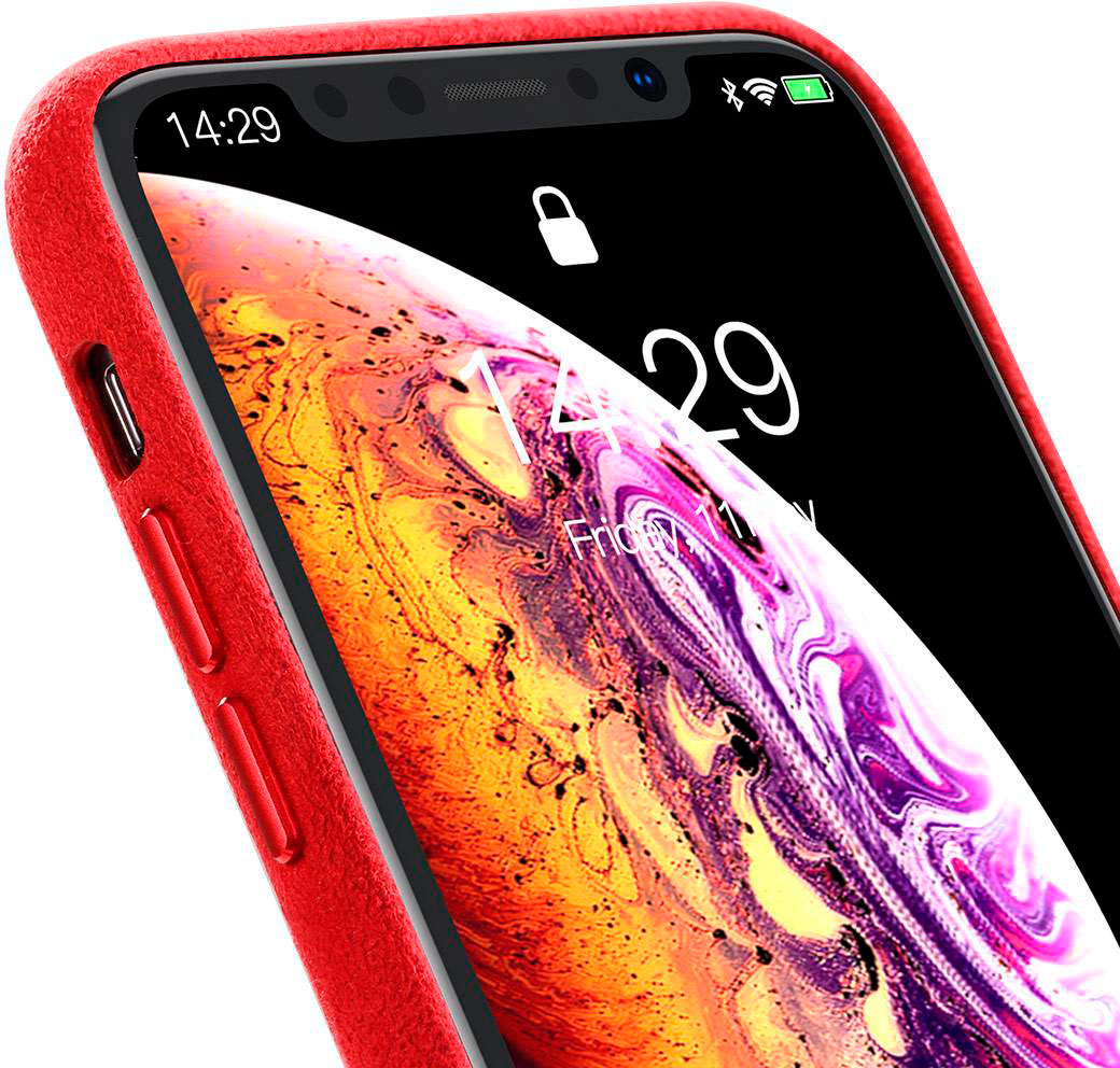 Чехол Baseus Original Super Fiber (WIAPIPH58-YP09) для iPhone X/XS (Red)