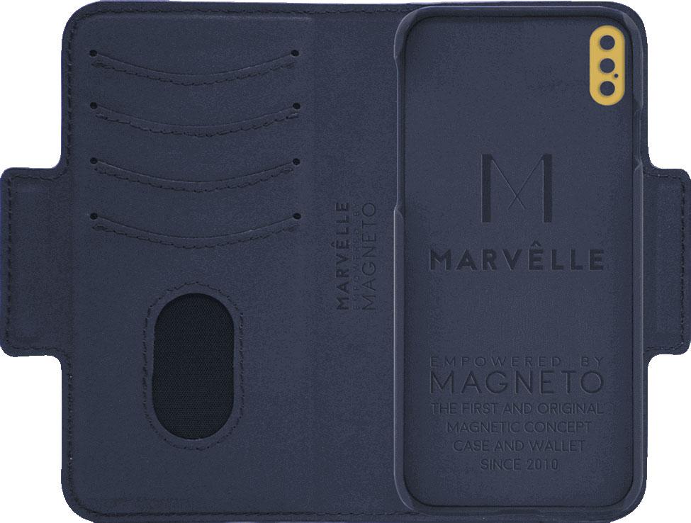 Чехол Marvelle N°305 для iPhone X/XS (Oxford Blue Smooth)