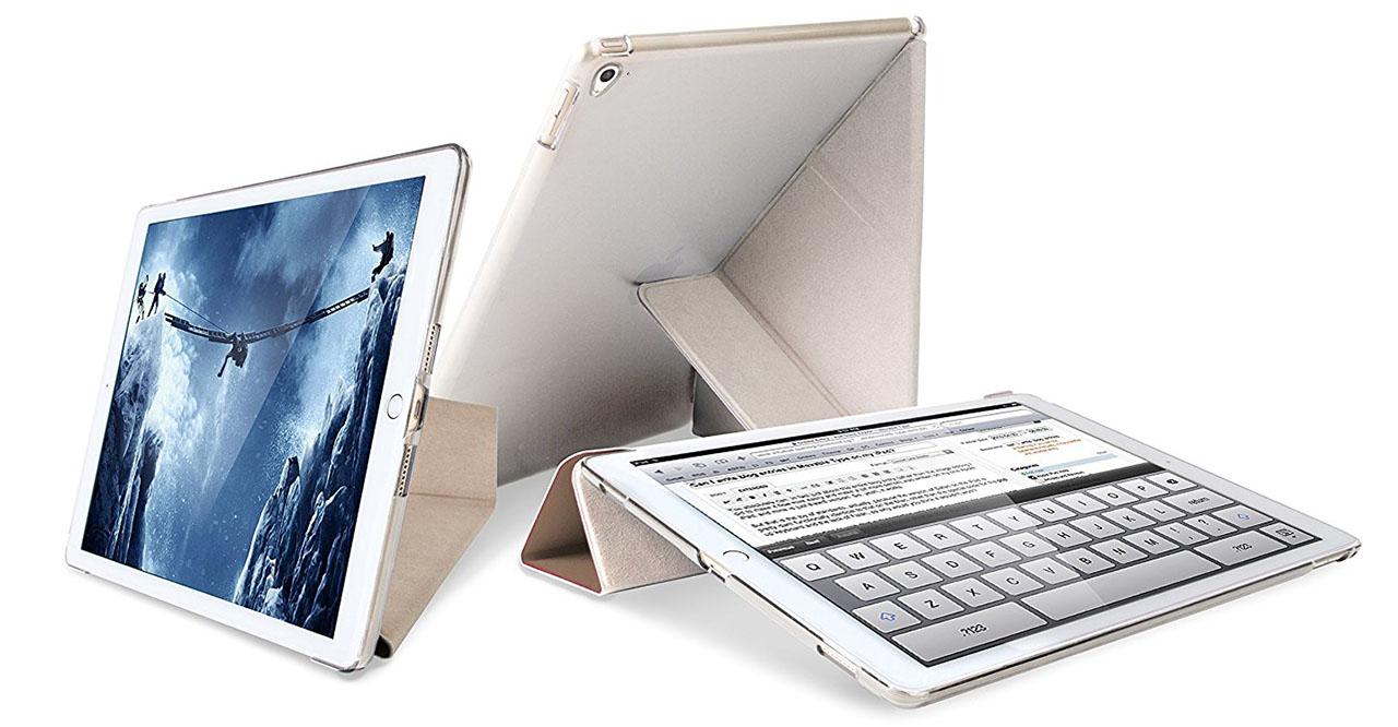 Чехол Uniq Yorker Kanvas для iPad Pro 10.5 (Black)