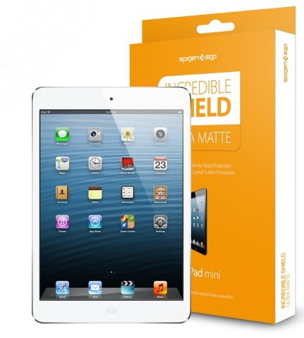 SGP Incredible Shield Ultra Matte Screen & Body Protection (SGP10095) - защитная пленка для iPad mini