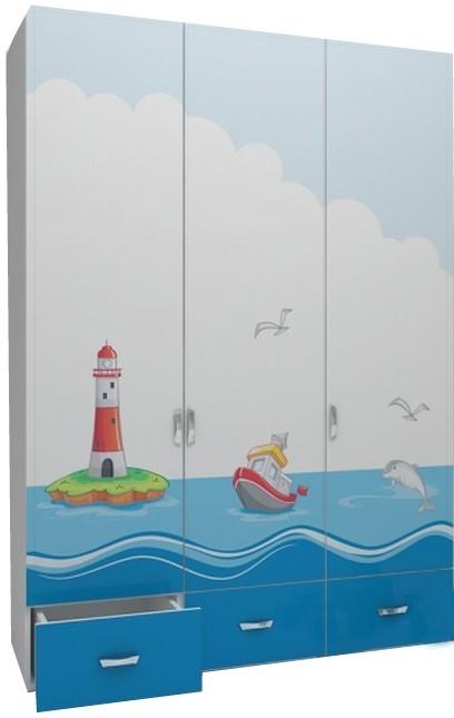 OceanТрехдверные шкафы<br>Шкаф 3-х дверный<br>