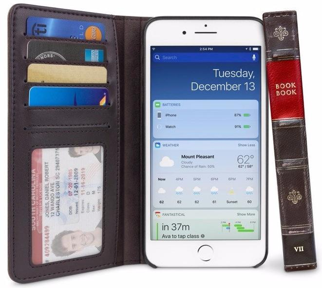 Чехол Twelve South BookBook (12-1660) для iPhone 7 Plus (Brown)