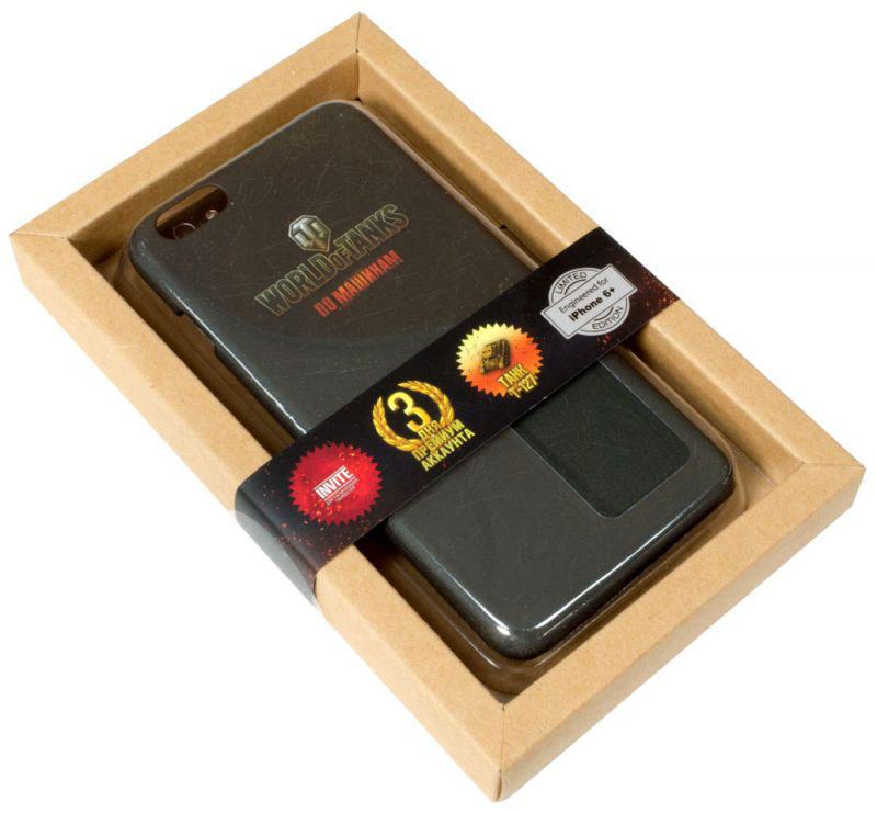"WoT ""По машинам!"" (101915) - чехол-накладка для iPhone 6/6S Plus (Matte Black)"