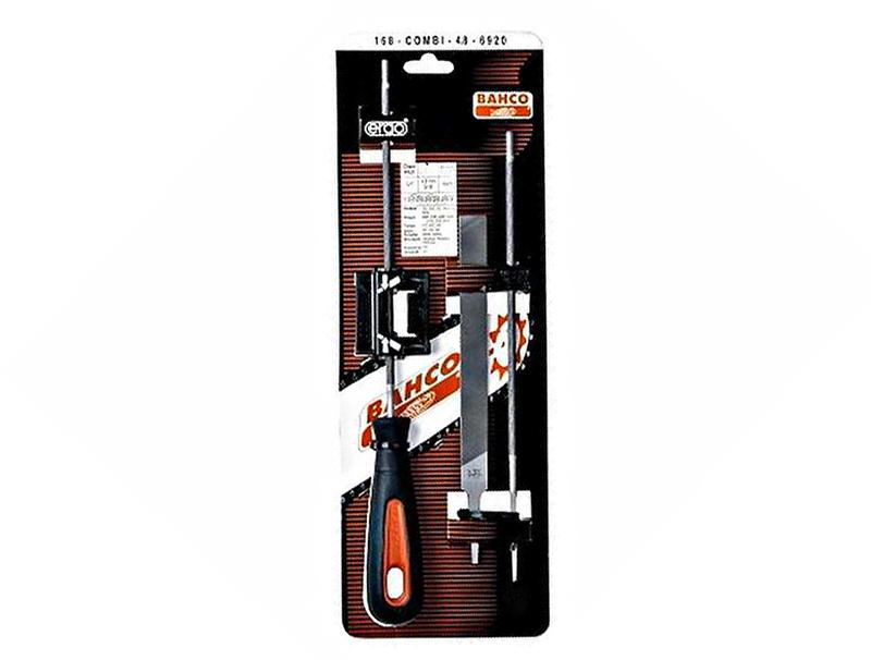 Bahco 168-COMBI-4.8-6920 - набор напильников для цепей с направляющей