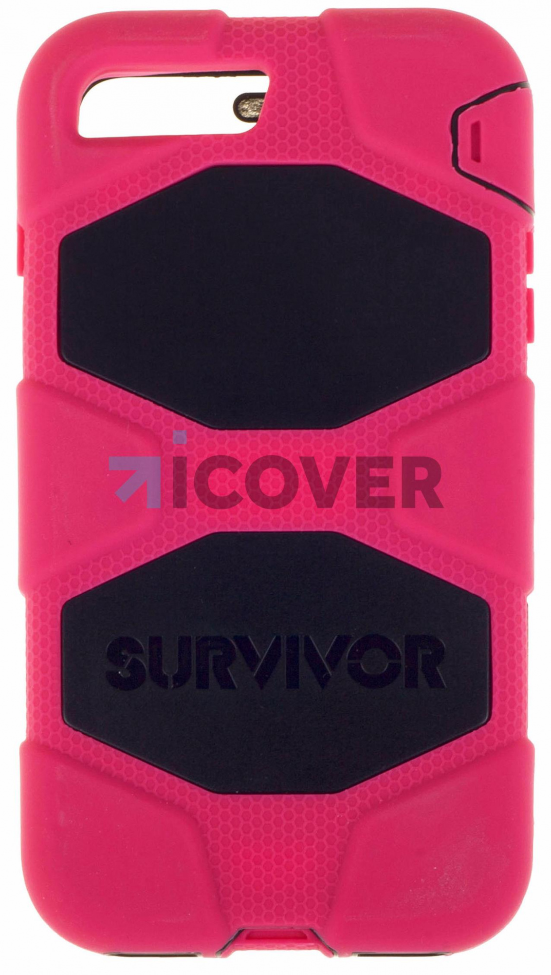 Griffin Survivor - противоударный чехол для iPhone 7 Plus (Black/Pink)