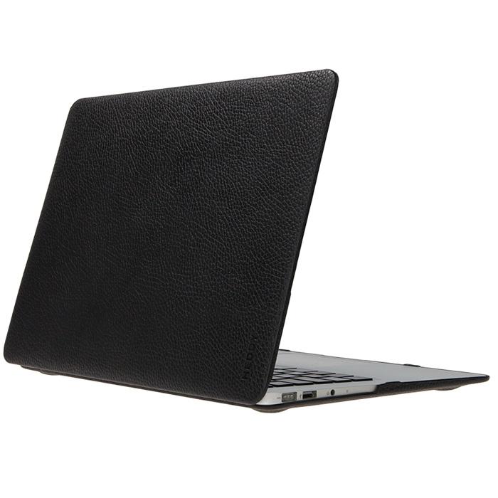 Heddy Leather Hardshell (HD-N-A-12-01-01) - чехол для MacBook 12 (Black)