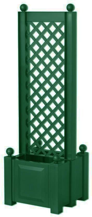 KHW 37403 - маленький ящик для растений с центральной шпалерой 43 см (Green)