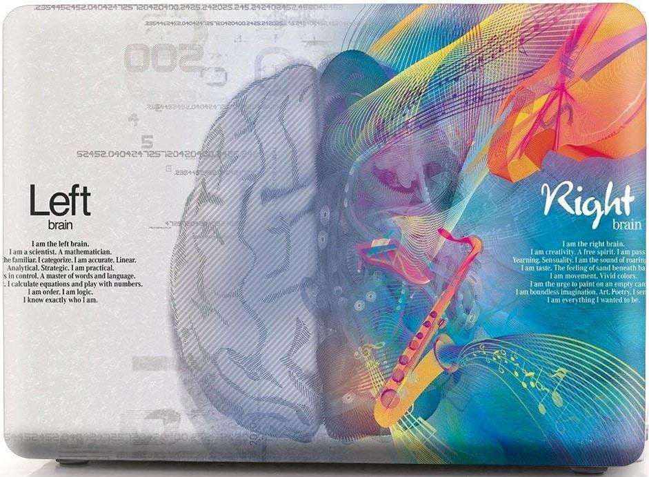 Накладка i-Blason Cover для MacBook Pro 13 2016 (Music Left and Right Brain)