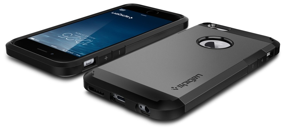 "Spigen Tough Armor (SGP11022) - чехол для iPhone 6 4.7"" (Gunmetal)"