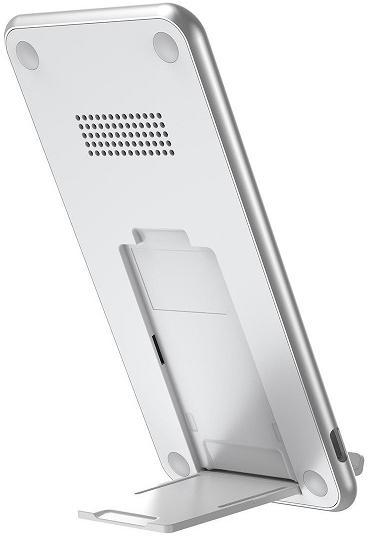 Беспроводное ЗУ Baseus Three-coil Wireless Charging Pad WXHSD-B01 (White)