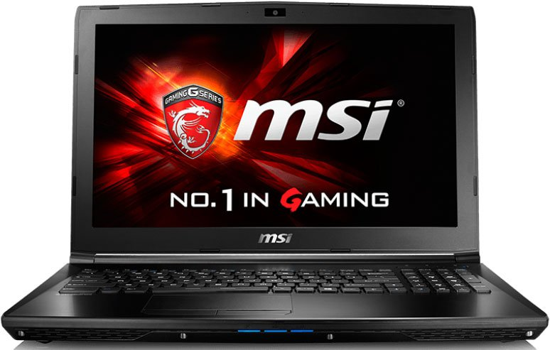 Ноутбук MSI GL62 6QD-029XRU 15.6'', Intel Core i5 6300HQ 2.3GHz, 4Gb, 500Gb SATA HDD (9S7-16J612-029)