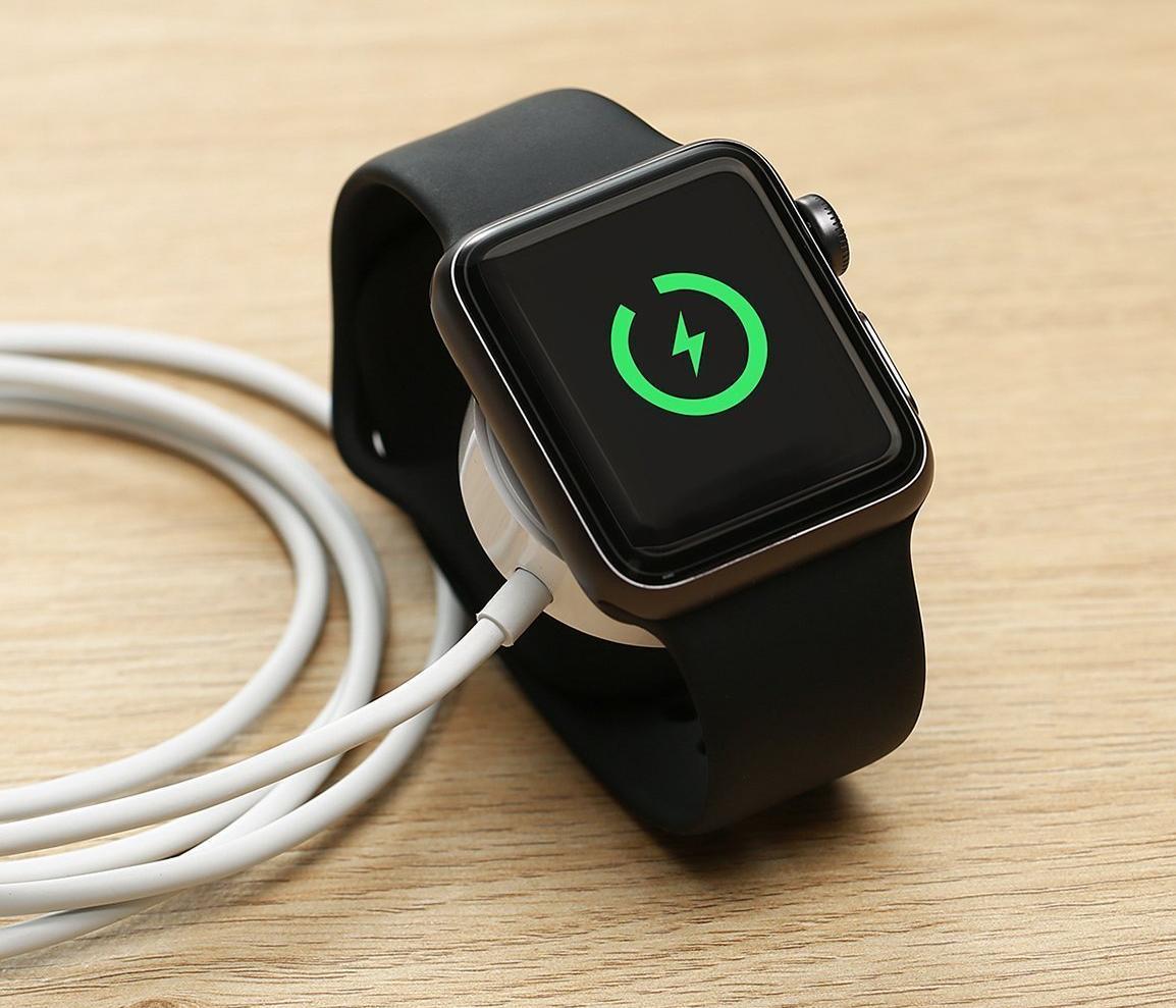 Зарядное устройство COTEetCI Apple Watch Charger (White)