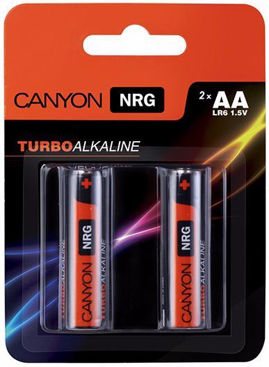 Canyon NRG AA Battery Pack 2pcs (ALKAA2) - комплект батареек