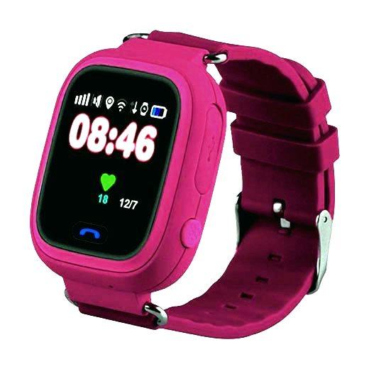 Кнопка Жизни J116 (9160126) - часы-телефон с GPS (Pink)