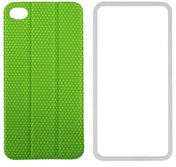 TidyTilt - чехол для iPhone 4/4S (Green) чехол для iphone 4 iphone 4s bb mobile медведь