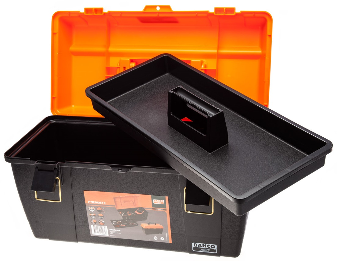 Bahco PTB202510 - ящик для инструментов (Black/Orange)