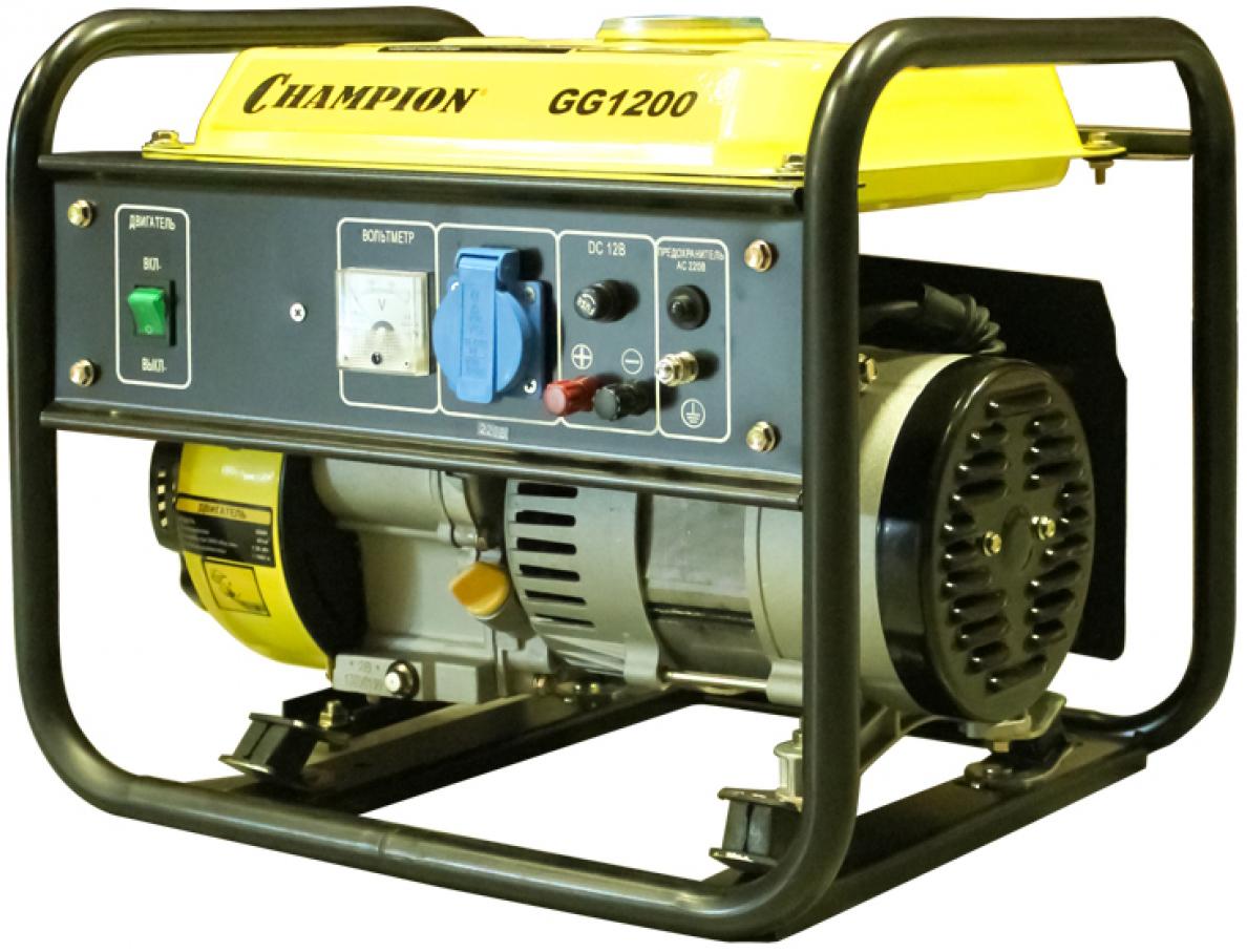 Champion GG1200 - бензиновый генератор