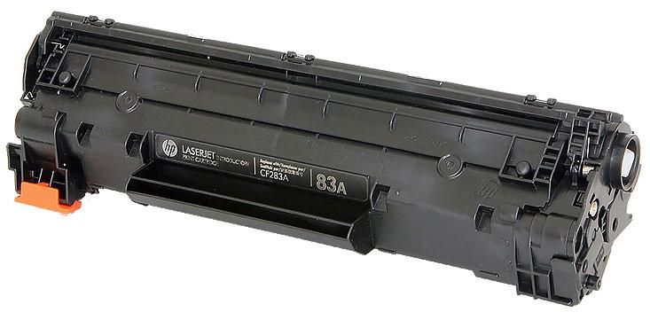 HP 83A (CF283A) - картридж для принтеров HP LaserJet Pro M201/MFP M125/M127/M225 (Black) тонер картридж hp cf283a black