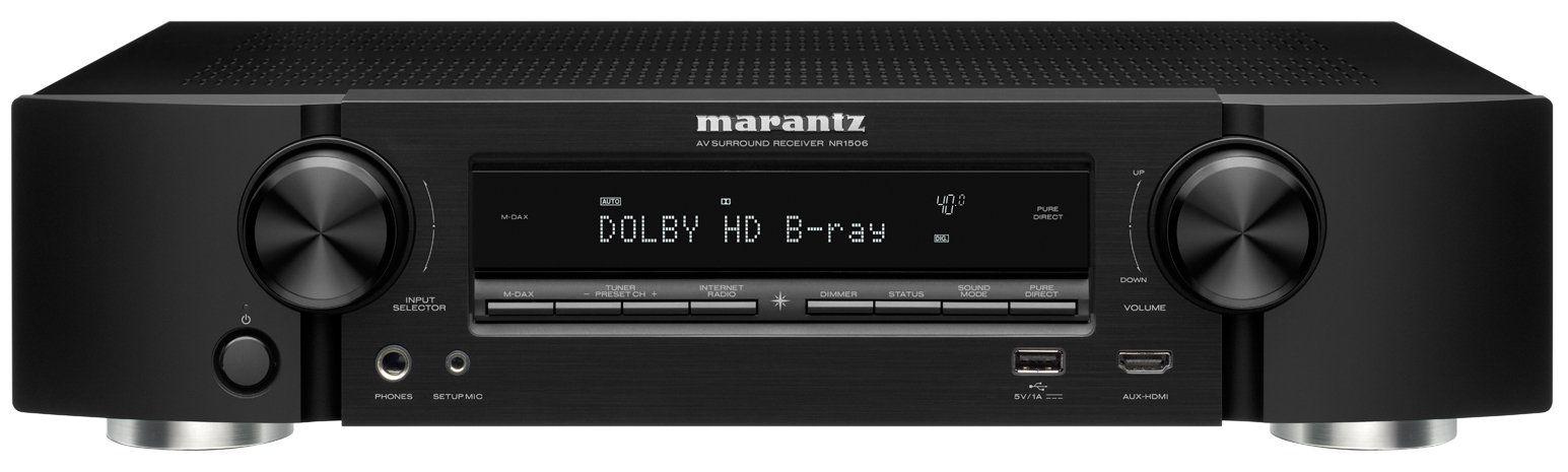 Marantz NR 1506 (26975) - AV-ресивер (Black)  av ресивер marantz sr5010 silver gold