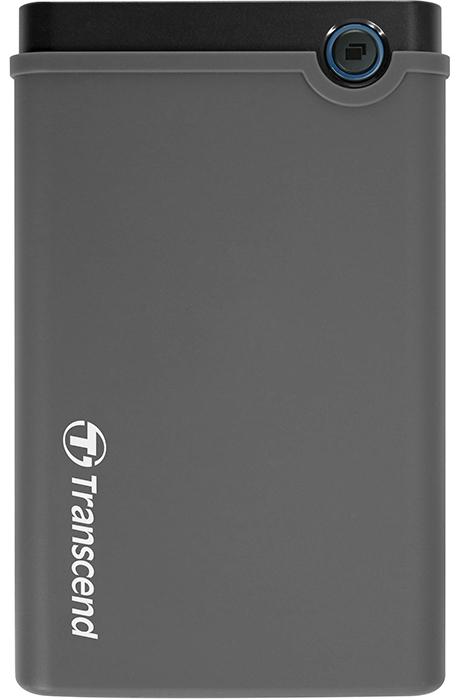 """Transcend StoreJet 25CK3 (TS0GSJ25CK3) - контейнер для HDD/SSD 2.5"""" (Grey)"""