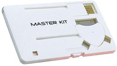 Мастер Кит MT1099 8 Гб - портативное зарядное устройство (White)