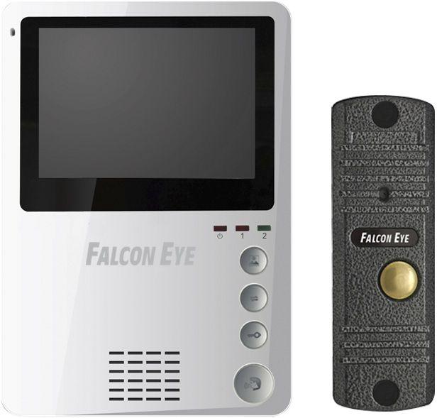 Falcon Eye FE-KIT Дом - видеодомофон (White)