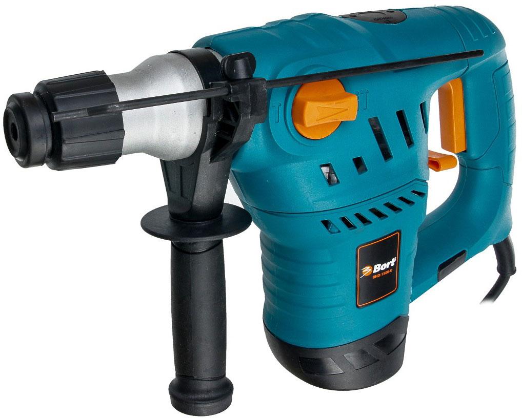 Bort BHD-1500-K (98291711) - электрический перфоратор (Blue)Перфораторы<br>Электрический перфоратор<br>