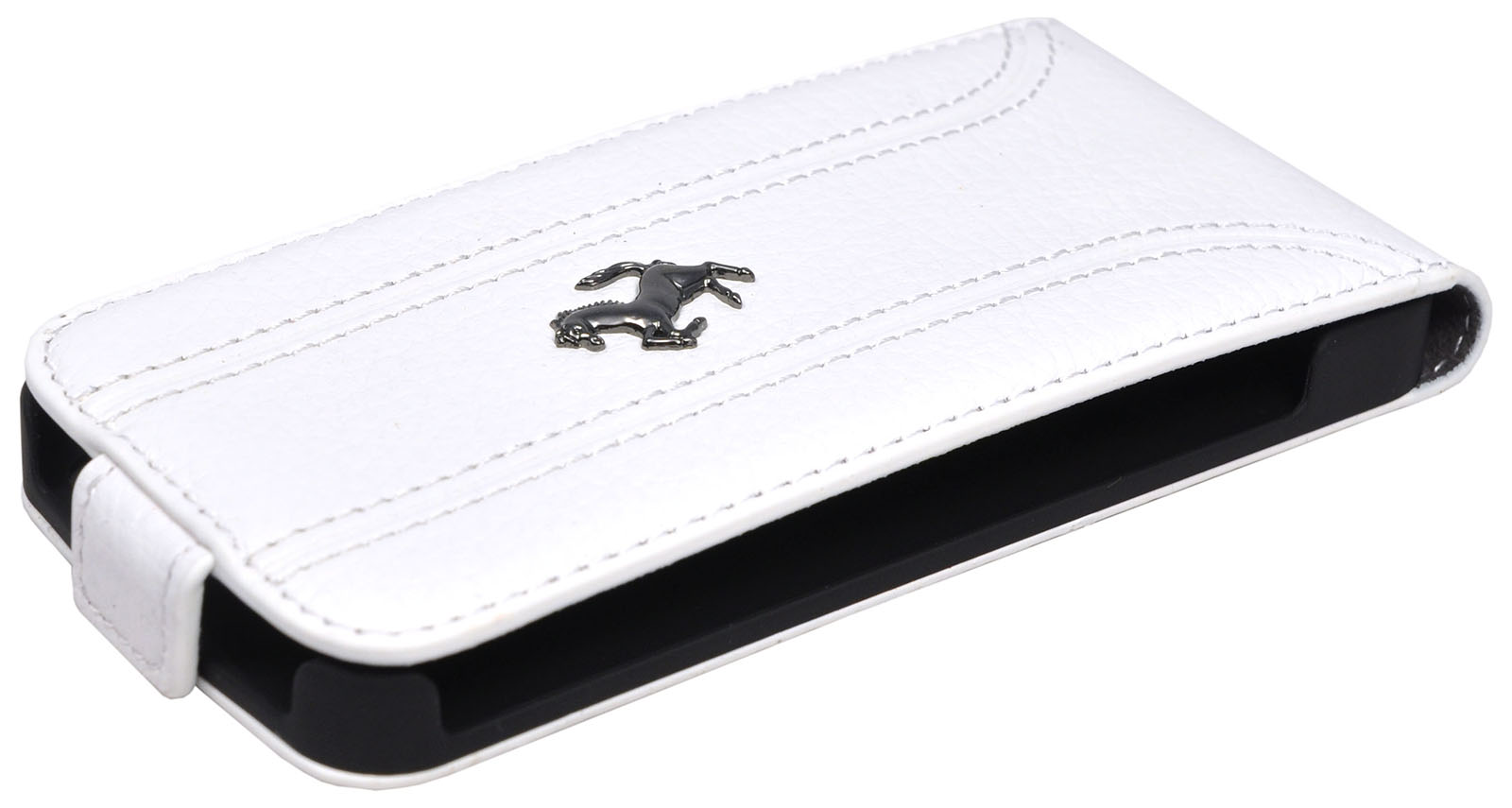 Ferrari FF-Collection Flip (FEFFFLP5FW) - чехол для iPhone 5/5S/SE (White)