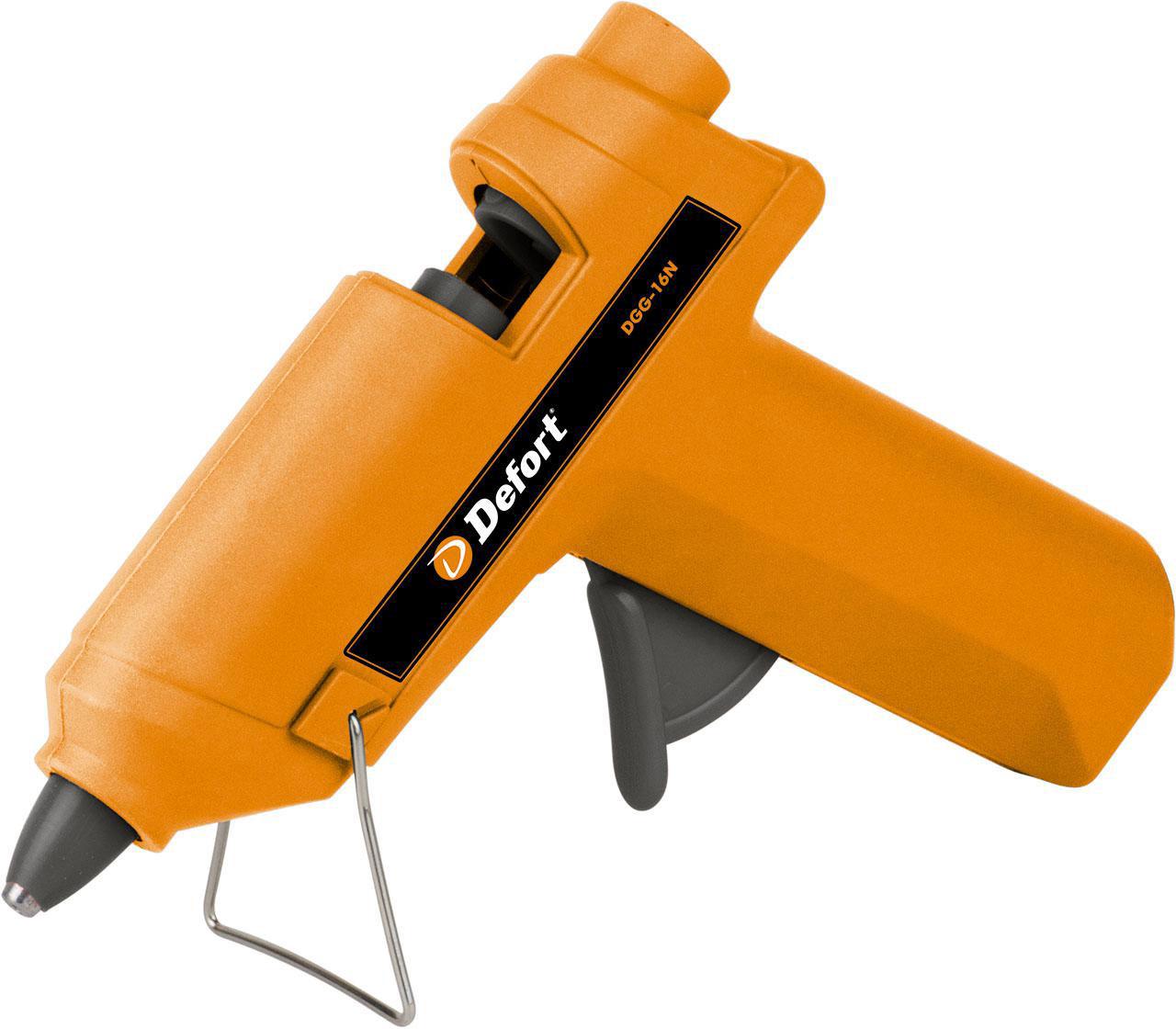 DeFort DGG-16N (98299496) - клеевой пистолет (Orange)