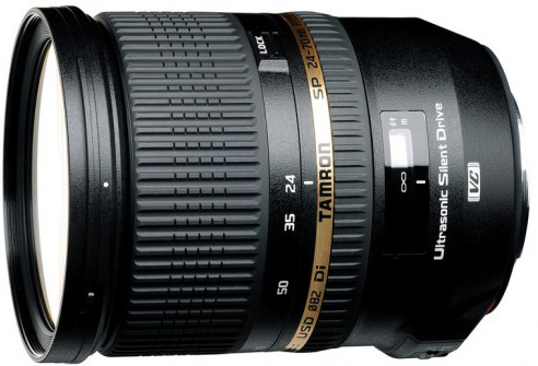 Tamron SP 24-70mm f/2.8 DI USD - объектив для фотоаппаратов Sony (Black)