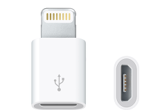 Apple Lightning to MicroUSB Adapter (MD820ZM/A)