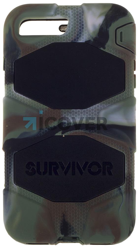 Griffin Survivor - противоударный чехол для iPhone 7 Plus (Khaki)