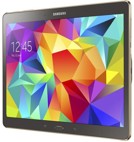 Планшет Samsung Galaxy Tab S 10.5 16Gb 3G LTE (SM-T805NTSASER) (Silver)