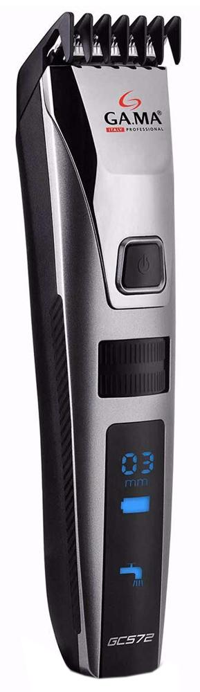 GA.MA GC 572 - машинка для стрижки волос (Silver/Black)