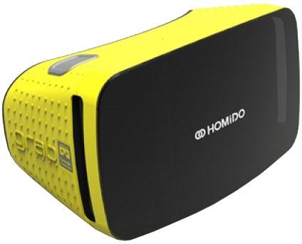 homido Очки виртуальной реальности Homido Grab (Yellow)