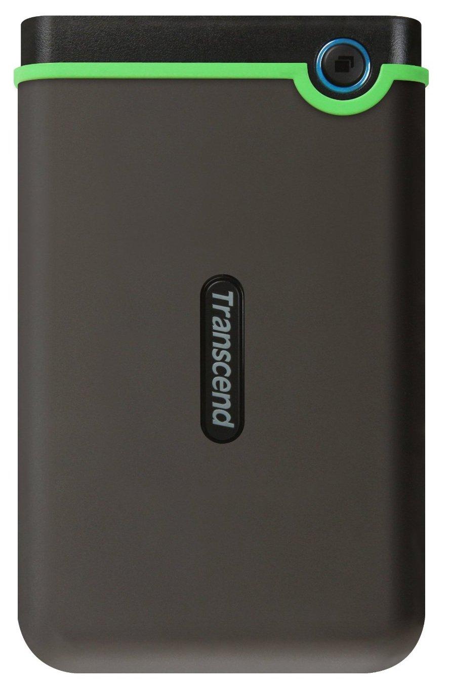 Transcend StoreJet 25MC 1 Тб (TS1TSJ25MC) - портативный жесткий диск (Black) жесткий диск transcend 2tb storejet 100 ts2tsjm100
