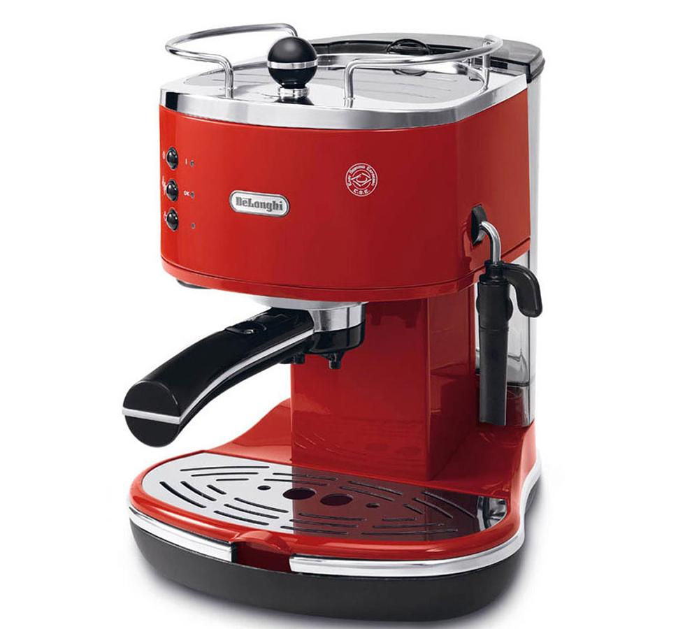 DeLonghi Icona ECO311 - рожковая кофеварка (Red)