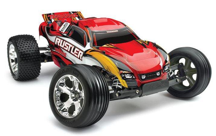 Traxxas Rustler XL-5 1:10 - радиоуправляемый автомобиль (Red)