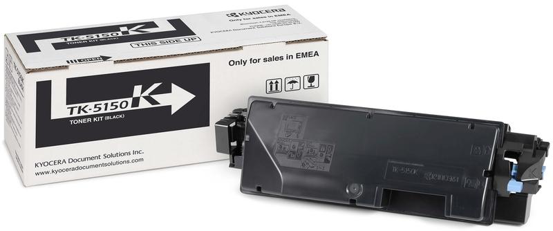 Kyocera TK-5150K - тонер-картридж для P6035cdn/ M6035cidn/ M6535cidn (Black)