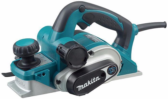 Makita KP0810 - рубанок электрический (Blue)
